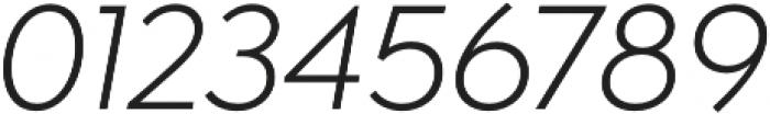 Isidora Sans Regular It otf (400) Font OTHER CHARS