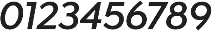 Isidora Sans SemiBold It otf (600) Font OTHER CHARS