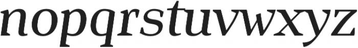 Isle Headline otf (500) Font LOWERCASE