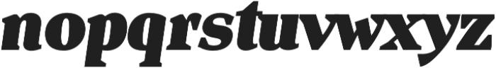 Isle Headline otf (900) Font LOWERCASE