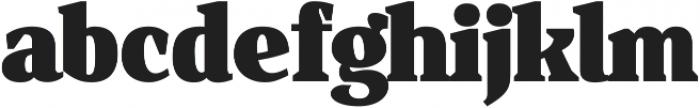 Isle Headline ttf (900) Font LOWERCASE