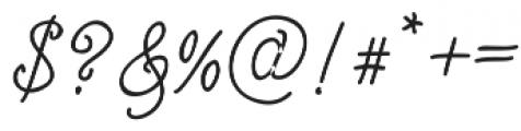 Israquella_Monoline otf (400) Font OTHER CHARS