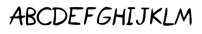 IsaacSans Font LOWERCASE