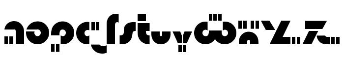 Isamu Font LOWERCASE
