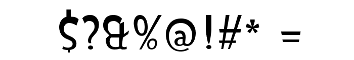 Isildur High Font OTHER CHARS