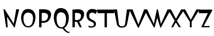 Isildur High Font UPPERCASE
