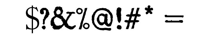 Island Roman Font OTHER CHARS