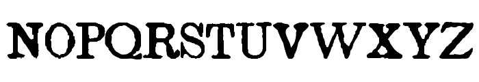 Island Roman Font UPPERCASE