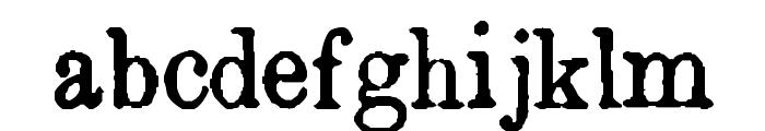 Island Roman Font LOWERCASE