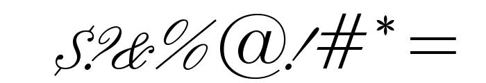 IslandScriptOpti Font OTHER CHARS