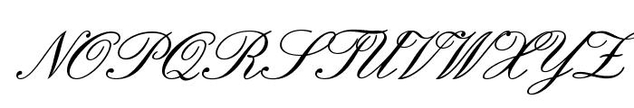 IslandScriptOpti Font UPPERCASE