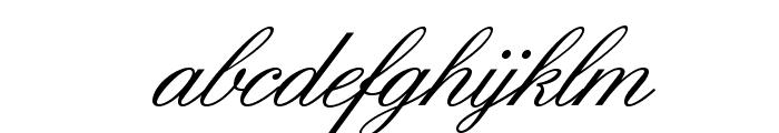 IslandScriptOpti Font LOWERCASE