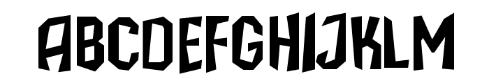 IsleOfTheDead Font UPPERCASE