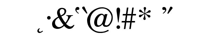 Ismini Regular Font OTHER CHARS
