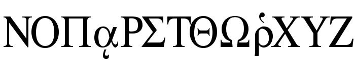 Ismini Regular Font UPPERCASE
