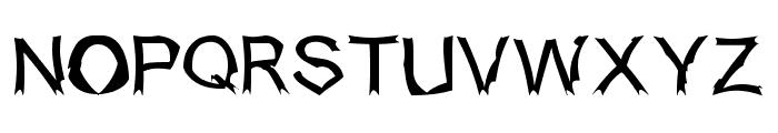 Isogul Font UPPERCASE