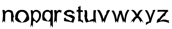 Isogul Font LOWERCASE