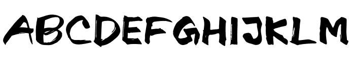 Israt Font UPPERCASE