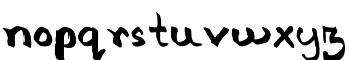 Israt Font LOWERCASE