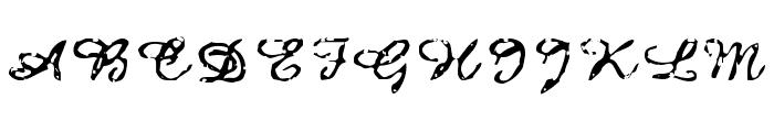 Issac Font UPPERCASE