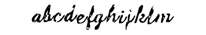 Issac Font LOWERCASE