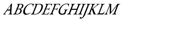 Isolde Italic Font UPPERCASE