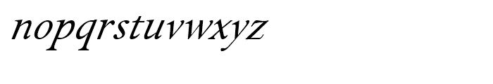 Isolde Italic Font LOWERCASE