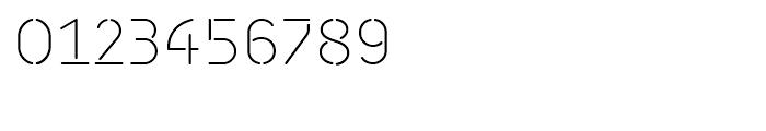 Isometrik Extra Light Font OTHER CHARS