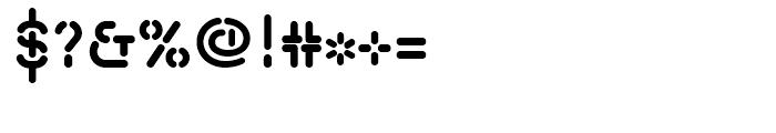 Isometrik SemiBold Font OTHER CHARS