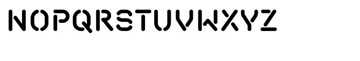 Isometrik SemiBold Font UPPERCASE