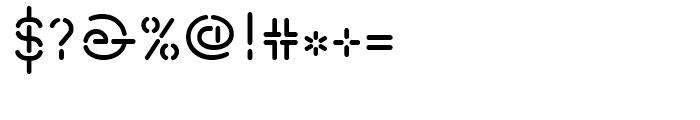 Isometrik Small Caps Regular Font OTHER CHARS