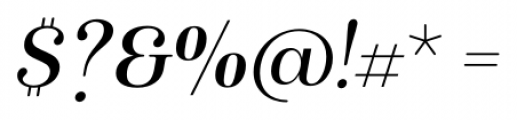 Isabel Italic Font OTHER CHARS