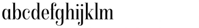 Isabel Condensed Light Font LOWERCASE