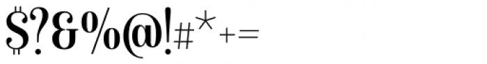Isabel Condensed Regular Font OTHER CHARS