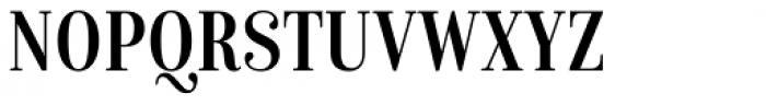 Isabel Condensed Regular Font UPPERCASE