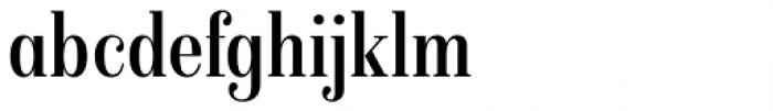 Isabel Condensed Regular Font LOWERCASE
