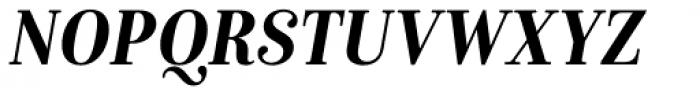Isabel SemiCondensed Bold Italic Font UPPERCASE