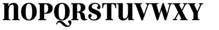 Isabel SemiCondensed Unicase Black Font UPPERCASE