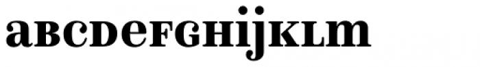 Isabel SemiCondensed Unicase Black Font LOWERCASE