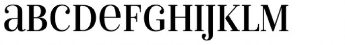 Isabel SemiCondensed Unicase Regular Font UPPERCASE