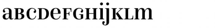 Isabel SemiCondensed Unicase Regular Font LOWERCASE