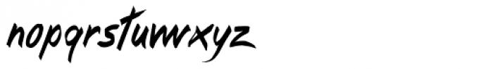 Isara Font LOWERCASE
