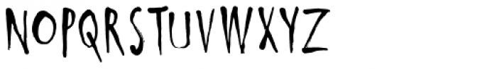 Ishtar Font UPPERCASE