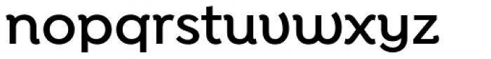 Isidora Alt Semi Bold Font LOWERCASE