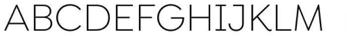 Isidora Sans Alt Light Font UPPERCASE