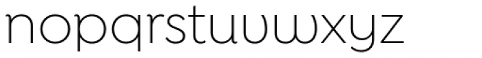 Isidora Sans Alt Light Font LOWERCASE