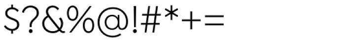 Isidora Sans Alt Regular Font OTHER CHARS