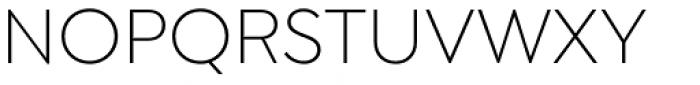 Isidora Sans Light Font UPPERCASE