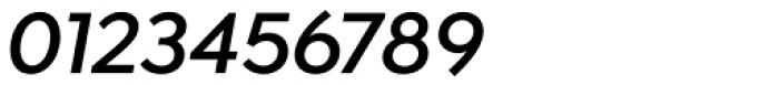Isidora Sans Semi Bold Italic Font OTHER CHARS