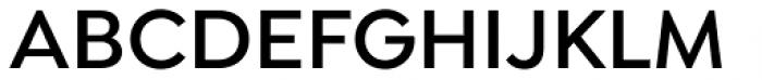 Isidora Sans Semi Bold Font UPPERCASE